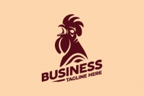 Crowing Rooster Logo