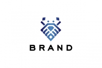 Diamond Crab Logo
