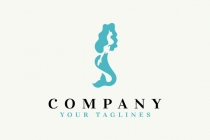 Mermaid Woman Logo