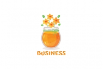 Floral Honey Logo