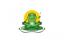 Meditation Frogs Logo...