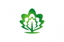 Oak Leaf Tree Logo