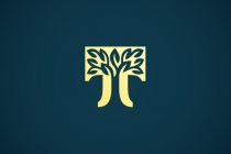 Golden T Tree Logo
