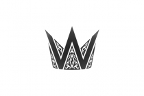 Ornate Crown W Logo
