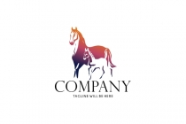 Mare And Foal Logo