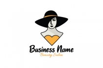 Lady In A Hat Logo