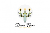 Sword Candle Logo