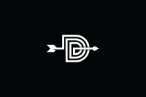 Letter D With Arrow...