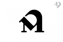 DM MD Letters Logo