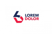 LD or DL Letters Logo