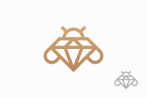 Diamond Bee Logo