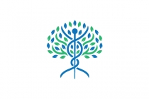 Caduceus Tree Logo