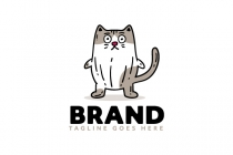 Surprised Cat Logo