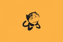 Little Cat Cute Logo