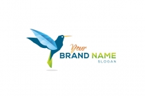 Blue Hummingbird Logo