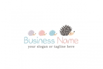 Hedgehog Family Logo