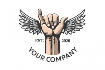 Winged Shaka Logo
