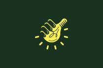 Thumbs Up Idea Logo