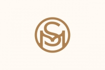 SM MS Monogram Logo