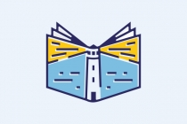 Book Lighthouse Logo
