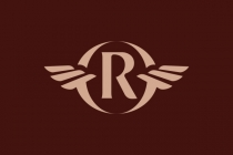 R Rr Wings Logo