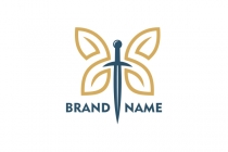 Sword Butterfly Logo