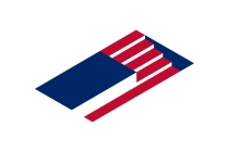 Usa Flag Podium Logo