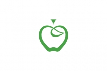 Stylish Apple Logo