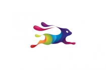Rabbit Paint Logo