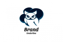 Owl And Cloud Logo