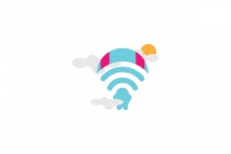 Skydiving Wifi Icon...