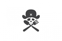 Pirate Food Logo