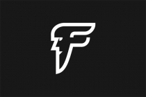 Simple Letter F Logo