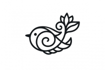 Hand Care Bird Logo
