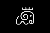 King Elephant Logo