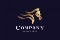 Luxury Horse Logo