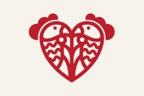 Chicken  Love Logo