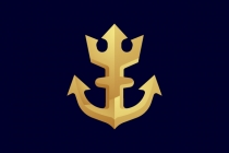 Golden Anchor Logo
