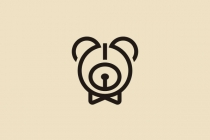 Alarm Clock Bear Logo