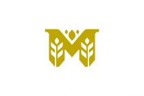 M Wheat Logo