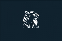Tiger Hat Woman Logo