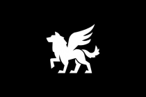 Wolf With Wings Logo