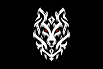 Wolf Tribal Ornament...