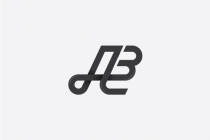 Letter Ab Or A3 Logo