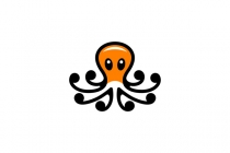 Orange Octopus Logo