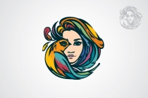 Bird-woman Logo