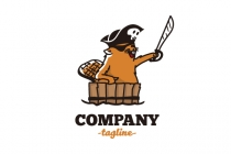 Beaver Pirate Logo