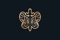 Butterfly Sword Logo