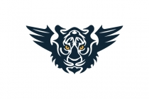 Tiger With Wings Logo