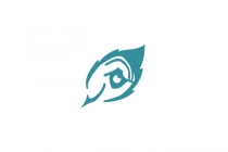 Hand Eye Feather Logo